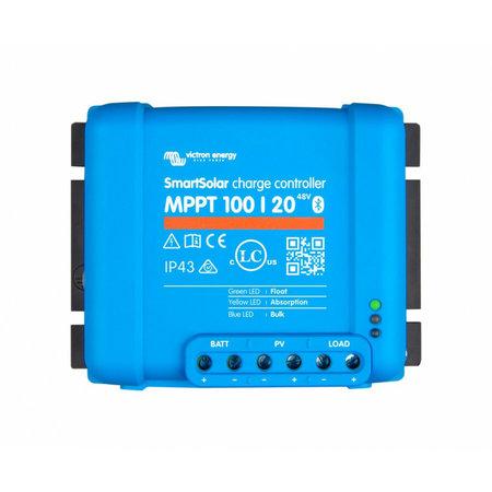 Victron SmartSolar MPPT 100/20 Solar Laadregelaar 12V, 24V en 48V