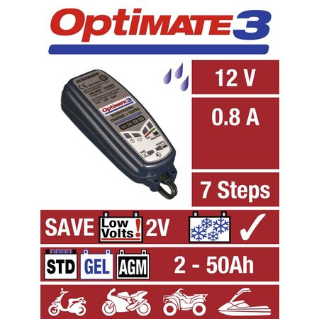 Tecmate Optimate 3