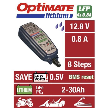 Tecmate Optimate Lithium 0,8A