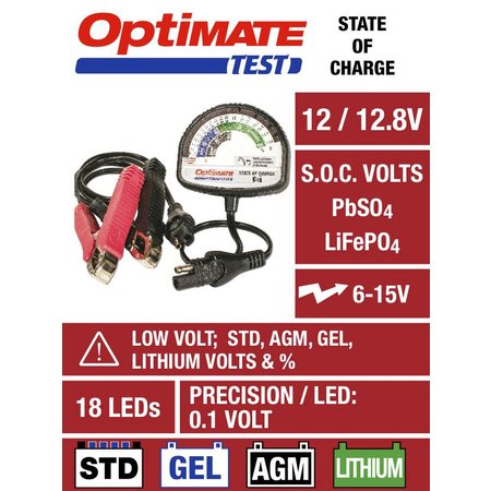 Tecmate Optimate TEST TS126