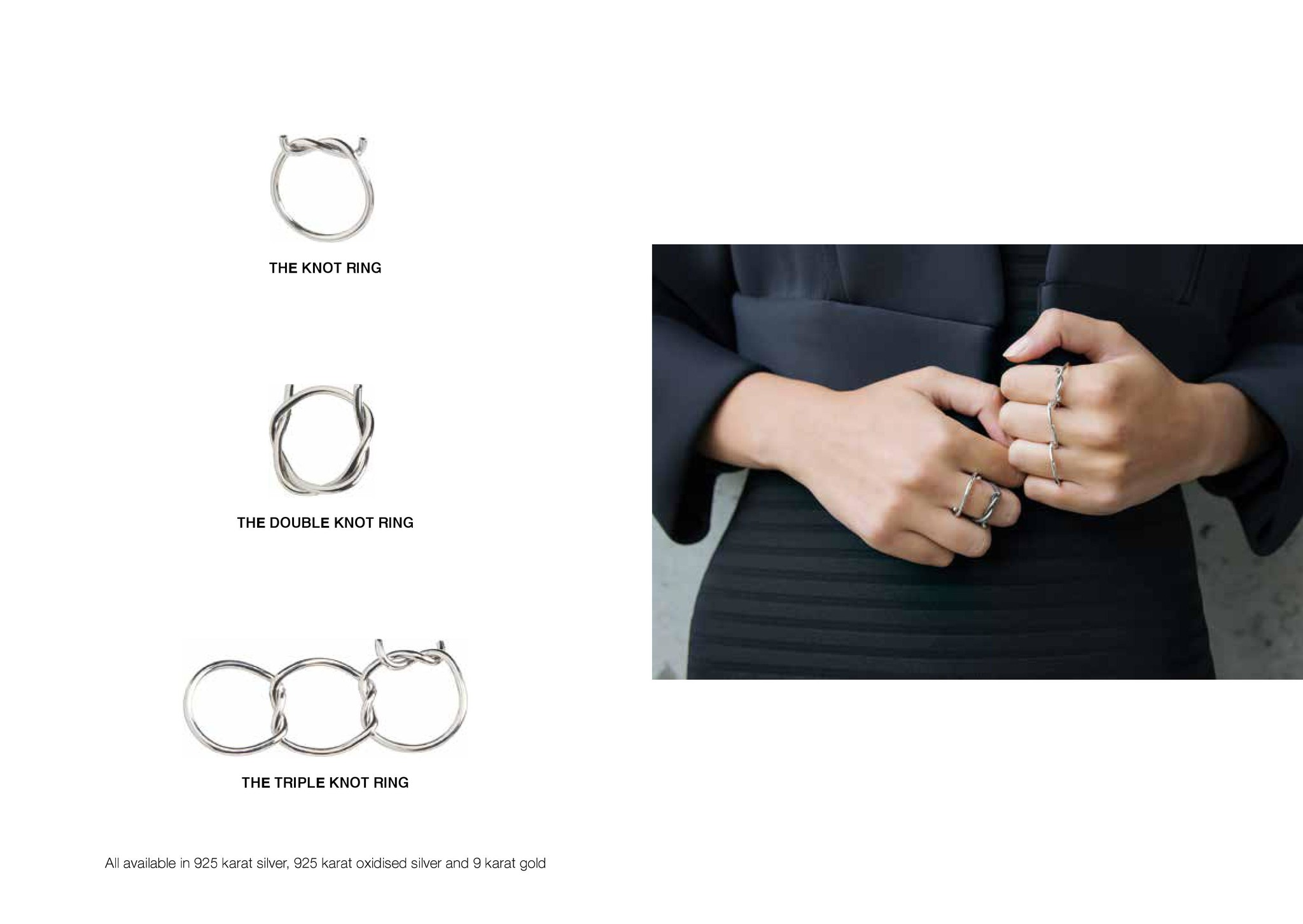 Our Knot rings