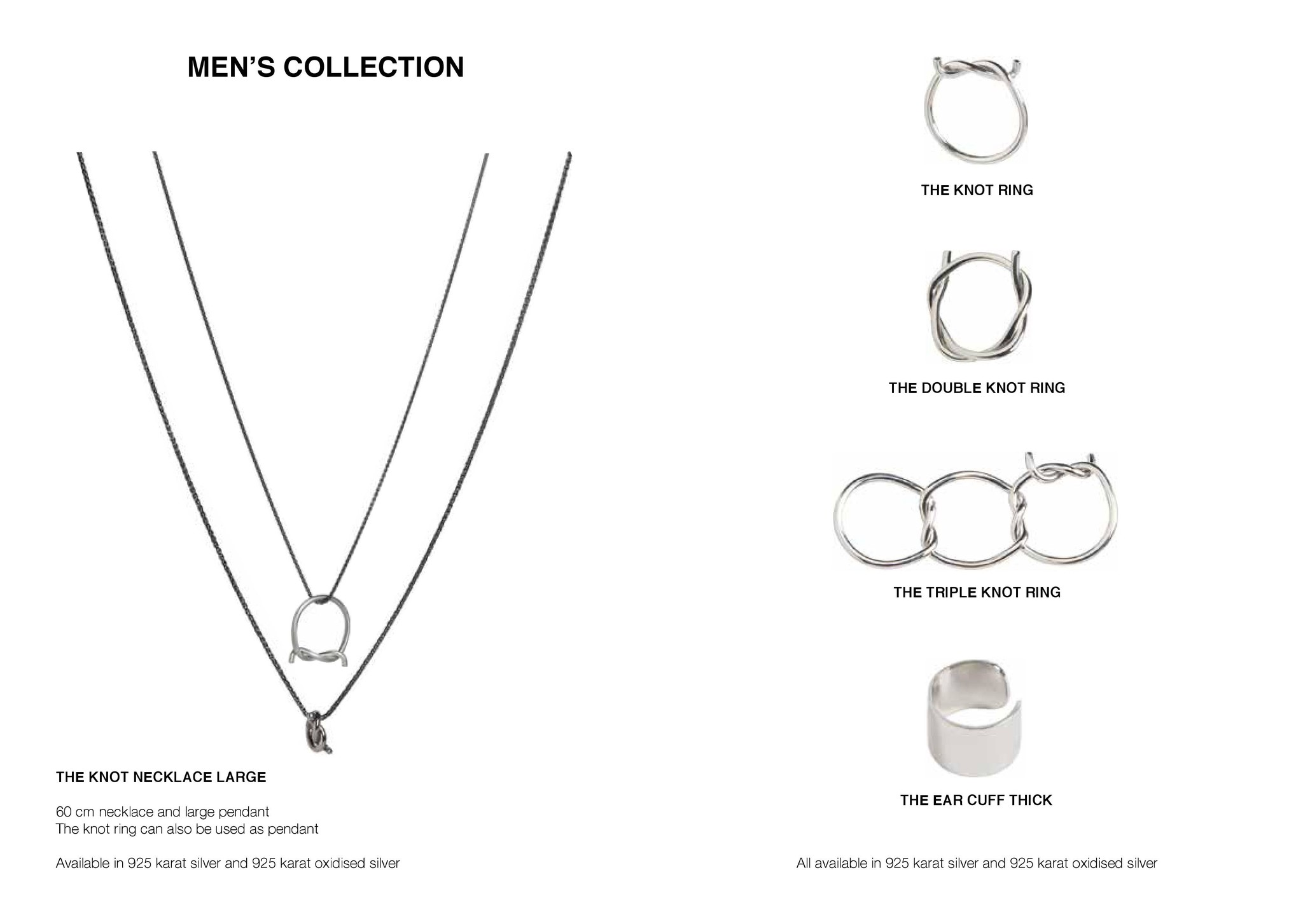 Jewellery for men