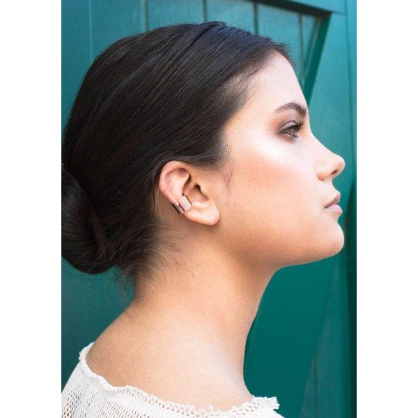Thick Ear Cuff - Rosé