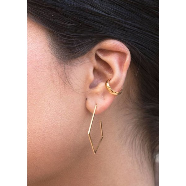 Gold Plated Silver Ear Cuff