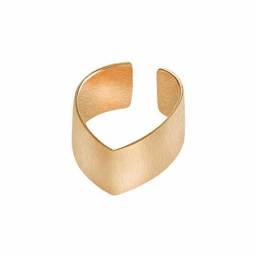 Dutch Basics Gold Plated Point Ear Cuff