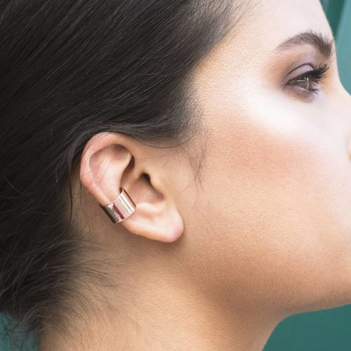 Dutch Basics Thick Ear Cuff - Rosé