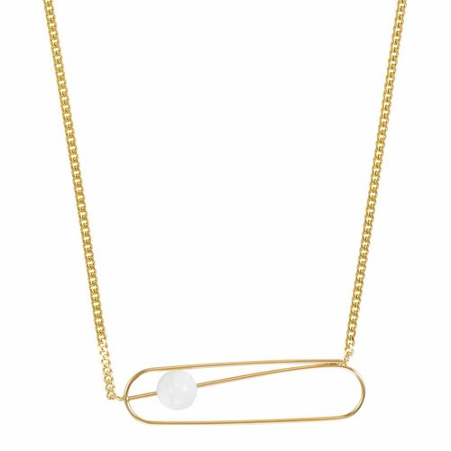 Dutch Basics Pin Necklace - Gold Plated