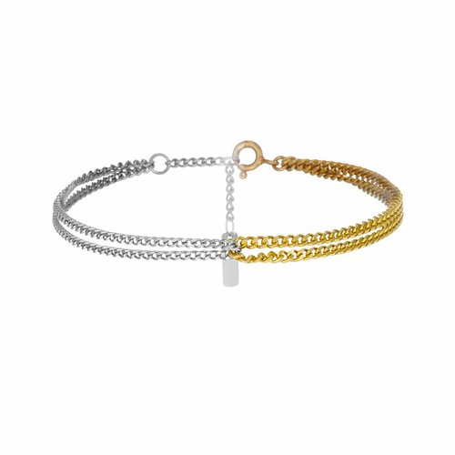Dutch Basics Double Chain Bracelet