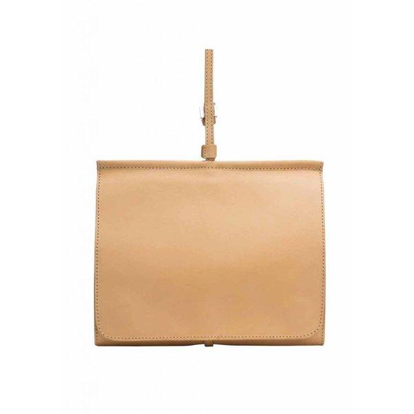 Messenger Shoulder Bag - Camel