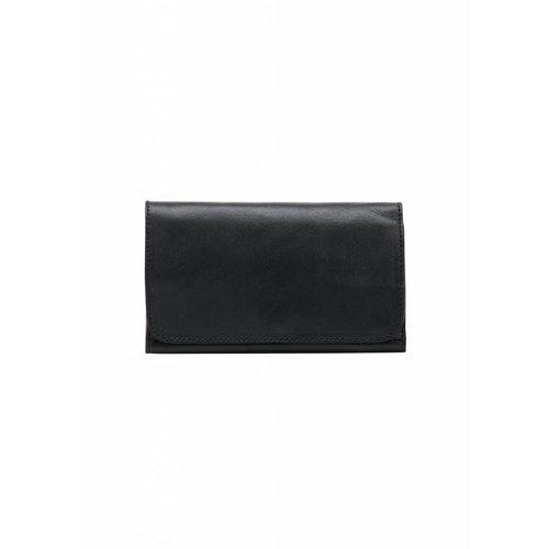 Dutch Basics Minimal Leather Wallet - Black