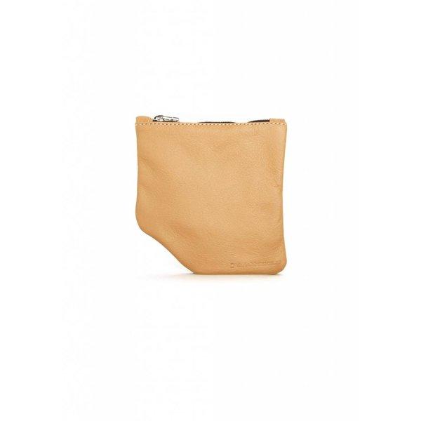 Small Diagonal Wallet - Nude
