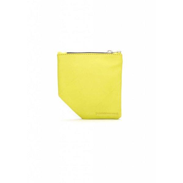 Small Diagonal Wallet - Green