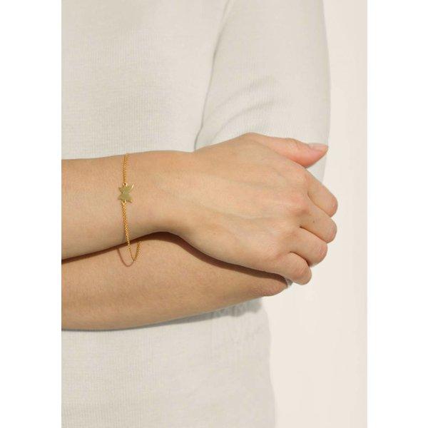Butterfly Bracelet - Oxidised en Gold