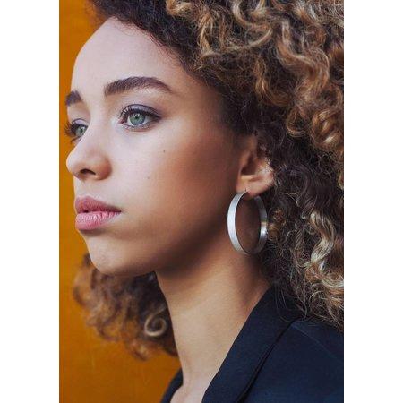 Dutch Basics Large Creole Earrings