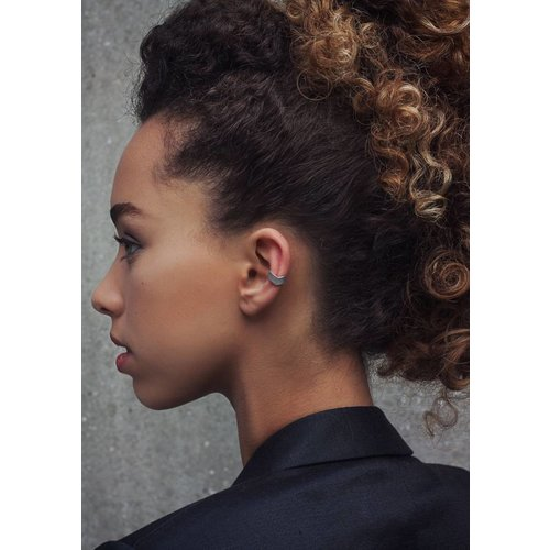 Dutch Basics Silver Point Ear Cuff