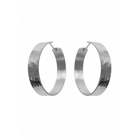 Dutch Basics Medium Creole Earrings