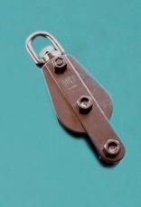 HYE Rvs blok voor touw met hondsvot AISI-304