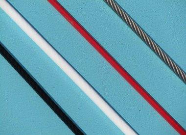 Staalkabel met coating