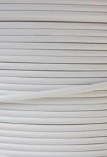 Staalkabel met coating wit PVC omspoten 7x7 250 mtr. haspel