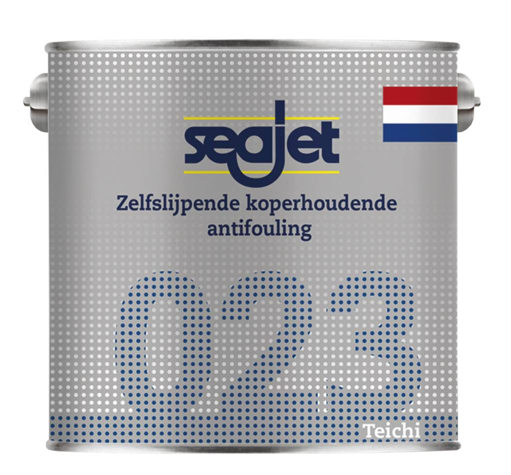 Seajet 023 zelfslijpend koperhoudend 2,5 en 5 liter