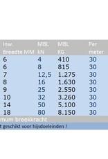 Ankerketting vuurverzinkt Kortschalmig, DIN766, 3 t/m 16 mm per 30 meter bos