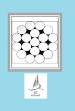 Rvs Staalkabel 1x19 (stug) AISI-316 100 meter