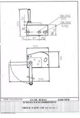 Goliath Verzinkte Handlier 4AFDM 80 kg hijsen