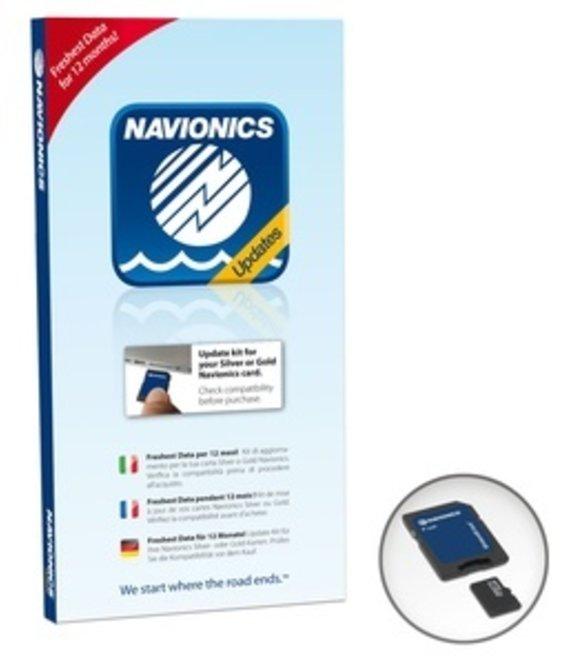 Navionics Kaart Updates