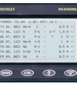 Nasa marine Weatherman met staafantenne