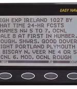 Nasa marine Easy Navtex met staafantenne