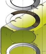 Vetus inspectiedeksel kit voor watertanks