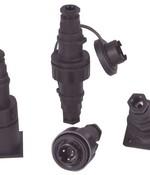 Waterdicht stopcontact en stekker 4 Polig