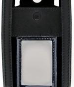 i.safe black leather case  IS730.2