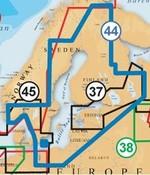 Navionics Baltische Staten, Finland, Zweden en Noorwegen