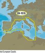 C-Map Europa Zuid-West kust