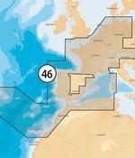 Navionics Frankrijk- Spanje-Nederland