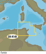 C-Map Noord Tunesië