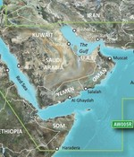 Garmin De Golf en de Rode Zee  BlueChart g2 kaart