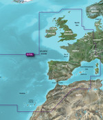 Garmin VEU722L BlueChart  g3 Vision Europa en Atlantische kust