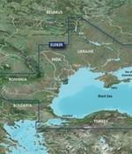 Garmin Zwarte Zee en Azov Zee BlueChart g3 Vision kaart