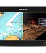 Raymarine Axiom 9 RV 3D met RV-100 transducer en navionics kaart