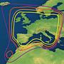 Raymarine 45STV B4 zelfzoekende satelliet TV schotelantenne voor Noord Amerika