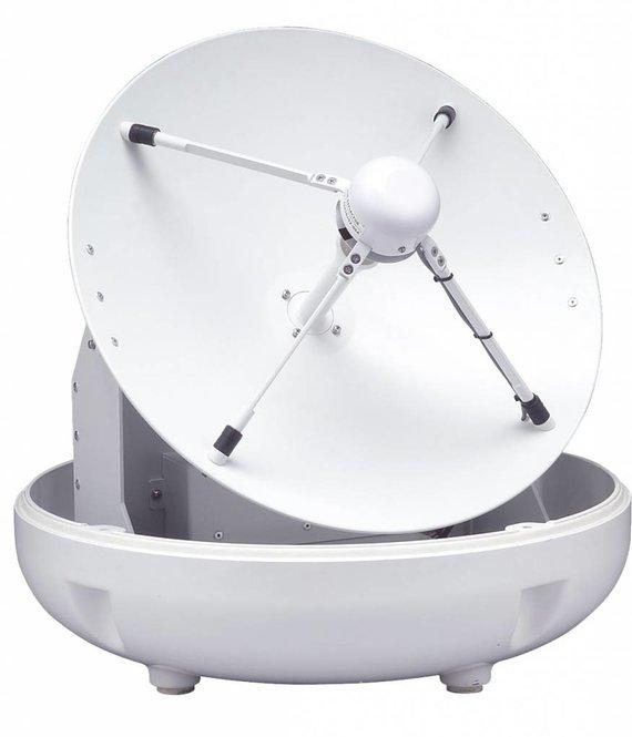Raymarine 45STV B4 zelfzoekende satelliet TV voor  Latijns Amerika met  Auto Skew