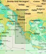 C-Map Griekenland West kust, Albanië - 4D