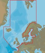 C-Map noord en centraal Europa Continental