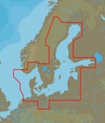 C-Map Baltische Zee en Denemarken - 4D