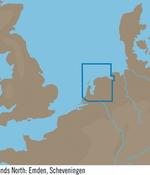 C-Map M-EN-M062- Noord Nederland; Emden, Scheveningen