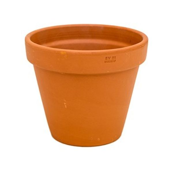 Terracotta bloempot Ø 21