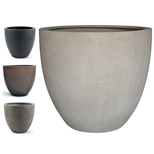Egg pot S Concrete Ø 32