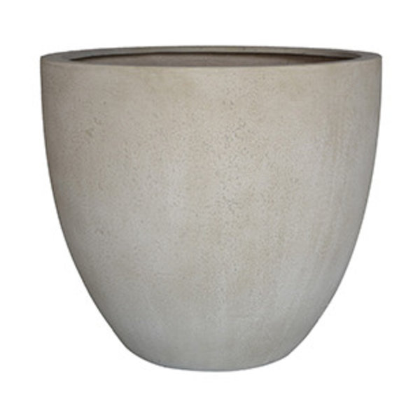 Egg pot L Concrete Ø 50